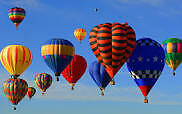 Hot air balloon festival tickets for family and adults