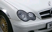 Mercedes c class 2001 (W203) headlights