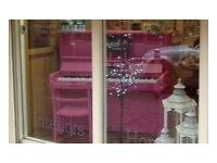 Piano (up-styled with Autentico chalk paint)