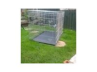Xl dog cage, suit german sheppard/huskie size