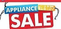 USED APPLIANCE SALE!!  - also Save on NEW FLOOR MODEL (Uncrated)