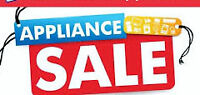 Stoves $240 to $390 > USED APPLIANCE  SALE! > SATURDAY 10 to 3pm