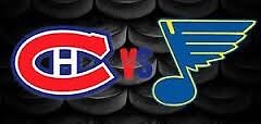 Canadiens vs Blues - Great Game!!!