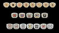 Molson Beer Stanley Cup NHL Hockey Rings Will pick up 4 u