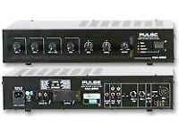 pulse 60w amplifier MA-360 PULSE MA-360 MIXER AMPLIFIER- 60W
