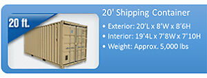 New 20ft Shipping Containers Kingston Kingston Area image 1