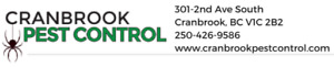 Cranbrook Pest Control Services for the East and West Kootenays