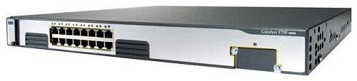 Cisco Ws-c3750g-16td-e 16 X 10/100/1000 Gigabit Ethernet Ports Catalyst Switch