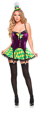 Mardi Gras Girl Costume (Mystery House Women's Mardi Gras Girl Costume Style)