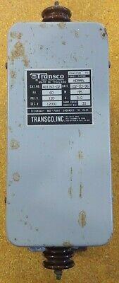 Transco 4b12n3-02 Neon Sign Transformer Power Supply 195w 120v12000v 3a30ma