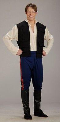 Hans Solo Costumes (FANCY DRESS COSTUME ~ STAR WARS DELUXE HANS SOLO)