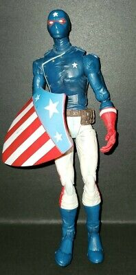 2006 TOYBIZ MARVEL LEGENDS YOUNG AVENGERS PATRIOT & SHIELD 6' FIGURE FROM 4 PACK