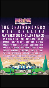 Fvded in The Park Tickets