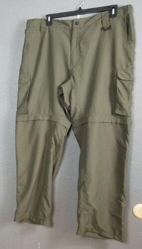 Boy Scouts Size XL Mens Pants Shorts Green Convertible Extra Large Zip Off Leg