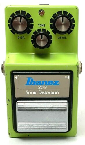 used Ibanez SD9 Sonic Distortion, Good Condition