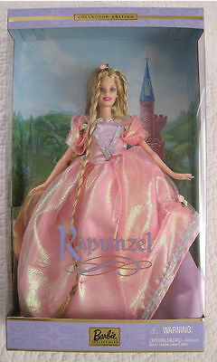 Rapunzel Barbie Doll COLLECTOR EDITION 2001  NEW! NRFB