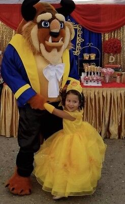 Belle Costume Beauty and the Beast Costume Belle Disney Inspired Dress Gown