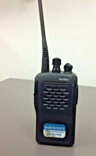 Vertex Standard VX-210AU, UHF Hand Held Portable Radio, Antenna, NO CHARGER