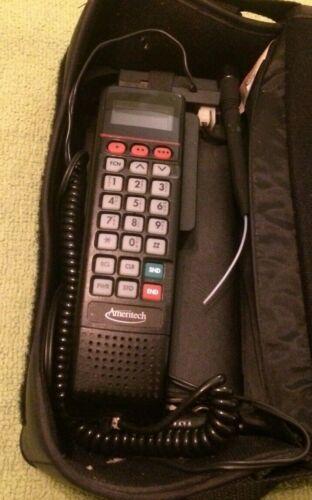 Vintage Bag Car Phone Ameritech Motorola Collectible