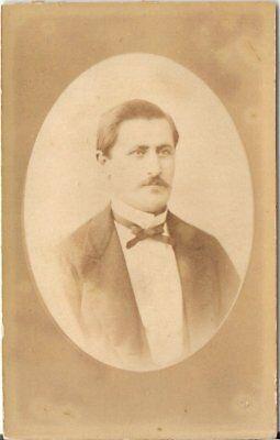 Foucher CDV Foto Herrenportrait - Paris um 1880
