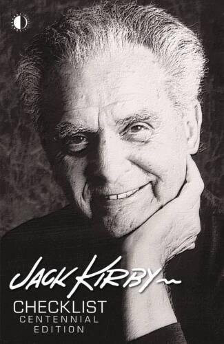 JACK KIRBY CHECKLIST CENTENNIAL  LIMITED EDITION HARDCOVER