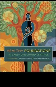 Healthy foundations in Early Childhood settings