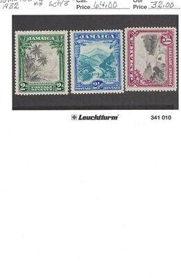 Jamaica Scott #106-8 Mh, Scott #126 Mh, Scott #141 Mh, Cat. Val. ~$139