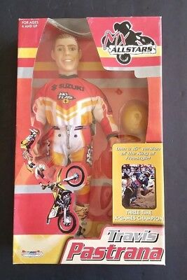 2001 Mx Allstars Collectable Travis Pastrana 16 Toy Action Figure Doll