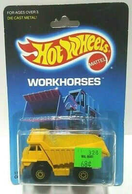 1986 Hot Wheels Workhorses Cat Dump Truck #1171 HTF