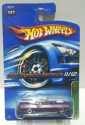 2005 Hot Wheels Treasure Hunt 1970 Plymouth Barracuda Real Riders! PLEASE READ