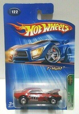 2005 Hot Wheels Treasure Hunt 1967 Camaro Real Riders! w/Protector Pack