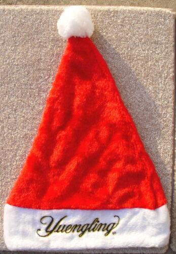 Yuengling Beer BRAND NEW Santa Christmas Hat NWOT Xmas Holiday