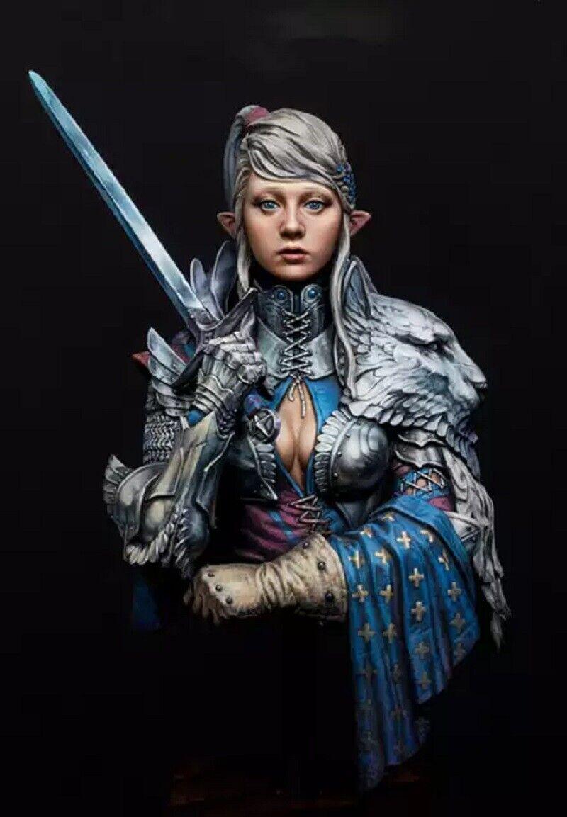 1//10 BUST Resin Figure Model Kit Warrior Elf Blade of Eternity Unpainted Unassam