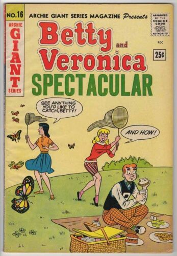 ARCHIE GIANT SERIES #16 VG+ 4.5 BETTY & VERONICA SPECTACULAR