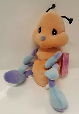 Tender Tails Ant By Enesco Precious Moments Plush Nursery Bug Pet Toy Adoption