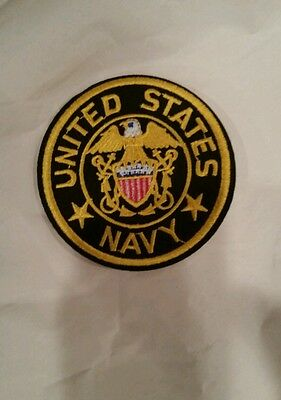 """United States military  Navy Patch  3""""x3"""""""