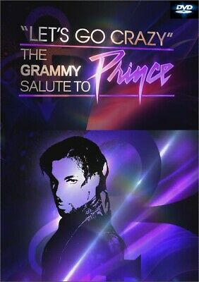 """LET'S GO CRAZY"" THE SALUTE TO PRINCE DVD (2020) various artists purple rain"