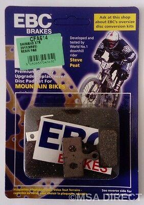 EBC Resina Montaña Pastillas Freno Disco Bici Para Shimano XT Deore 2011...