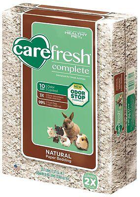 60 Liters Natural Carefresh Complete Pet Paper Bedding Rabbit Hamster Guinea Pig