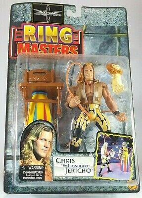 WCW WWF WWE wrestling figure Chris Jericho Ring Masters