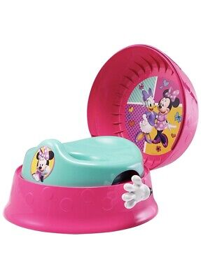 Disney Minnie Mouse 3 In 1 Potty Chair System Fun Sounds New