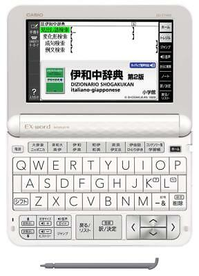 Casio Electronic Dictionary EXword XD-Z7400 Japanese Italian Italiano Giapponese