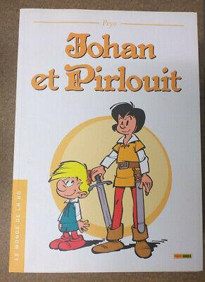 Le Monde de la BD 19 Johan et Pirlouit Peyo DH
