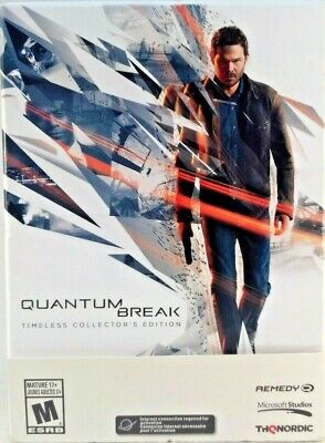 Quantum Break: Timeless Collector's Edition (PC Games) New - Sealed comprar usado  Enviando para Brazil