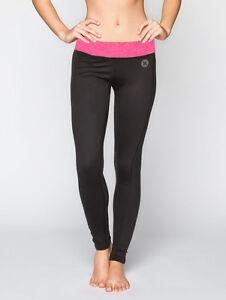 New Hurley Nike Dri-Fit Womens Leggings Pants M / 10 Ladies Yoga Gym Activewear
