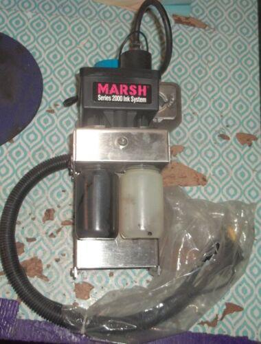 MARSH SERIES 2000 INK SYSTEM 29900 (P4)
