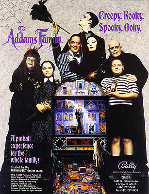 The Addams Family CPU Rom L-5  [U6] [Bally/Williams]