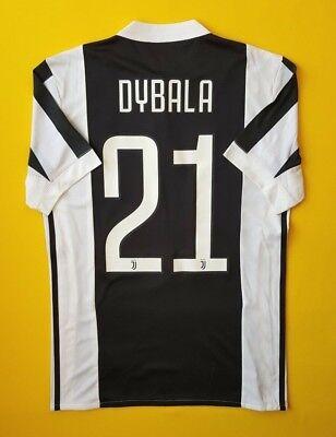 9a67513ccc1 5/5 Dybala Juventus jersey XS 2017 2018 shirt BQ4533 soccer football Adidas  ig93