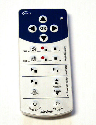 Stryker Sdc3 Remote Pn15617
