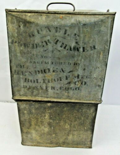 Antique Rundle Bros Powder Thawer Dynamite Warmer Colorado Mining